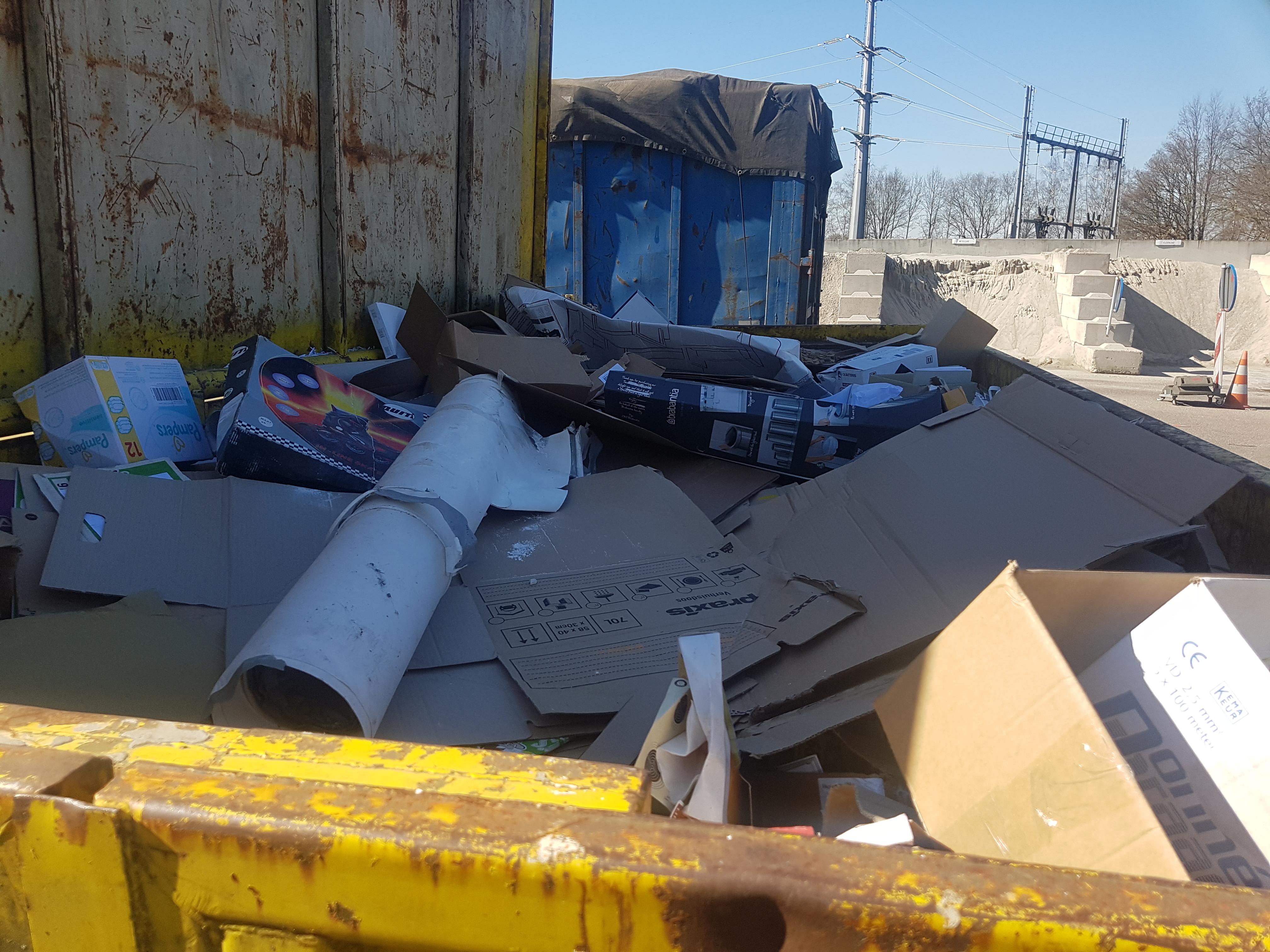 transport asbesthoudend afval